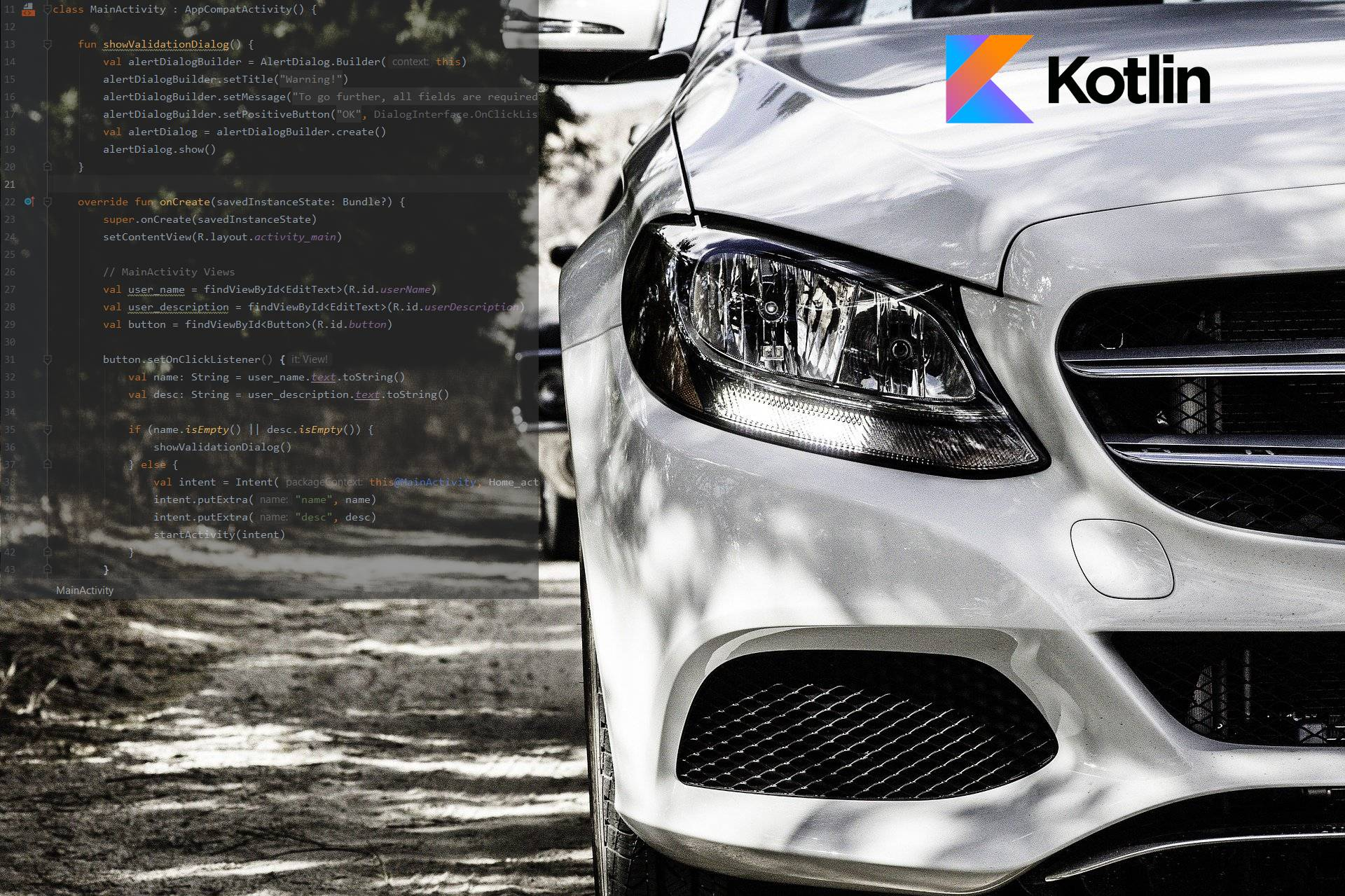 CAR Class – The Interview Solution in Kotlin (1/2)